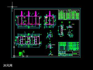 中和箱反應箱絮凝箱設計圖