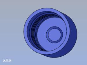 瓶蓋模具3D結構