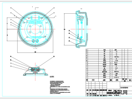 汽車鼓式制動器模型