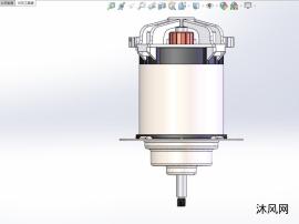 直流電機模型圖紙