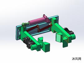 連桿機械爪模型