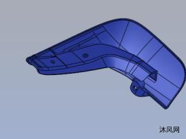 殼類塑料模具設計(一模一腔)UG建模圖