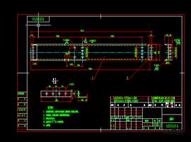 6S1601A左軌道設計圖