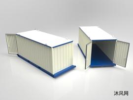 組合形式的集裝箱