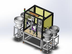 殺蟲劑噴頭多工位自動組裝設備