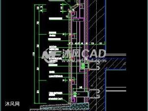 石材幕墙CAD节点图