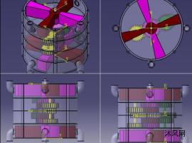 转子发动机(交叉)