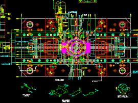 经典带齿轮结构-模图
