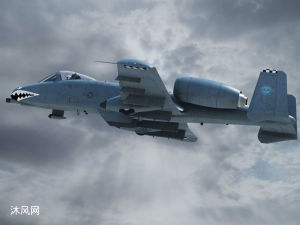 美国A10攻击机  AUTOCAD建模模型文件