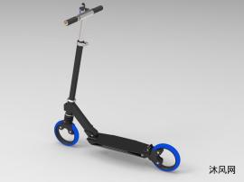 脚蹬踏板车模型
