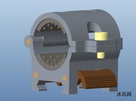 战术手电筒管夹及鱼骨导轨