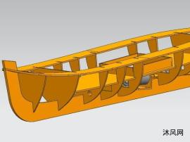 船模RC套材设计图纸