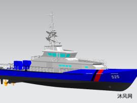达门4207海上巡逻艇图纸