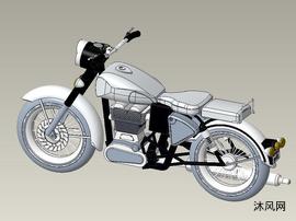 小型摩托车设计图