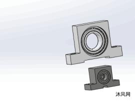 2款PGF系列键槽型带座单轴承