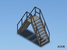跨梯模型设计图