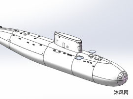 基洛级潜艇模型