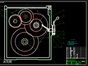 C001最大加工直径Φ400mm卧式车床的主运动变速系统