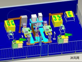轨道板机器人焊接工作站