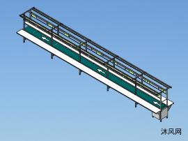 10米带灯架和操作台皮带线