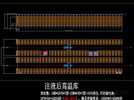 流水線自動化立體倉庫方案圖