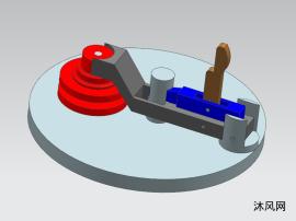 翻轉壓板與楔夾緊機構的運動仿真設計