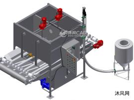 全自動廢水處理設備模型