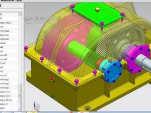 课程设计-同轴式二级减速器(UG8.5参数化设计)