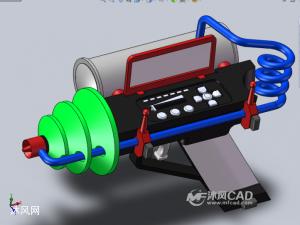 能源发射器设计模型